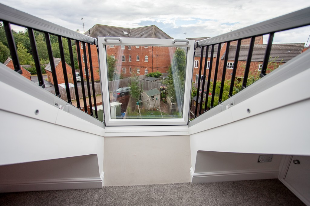 Loft conversion balcony windows skylofts for Balcony window