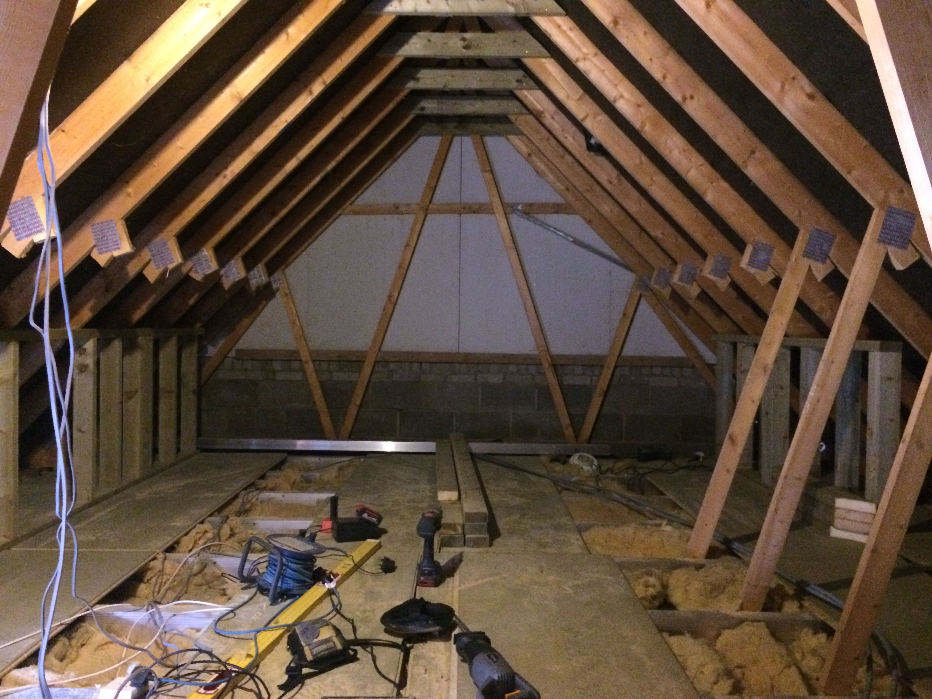 Velux conversion skylofts for Truss lofts