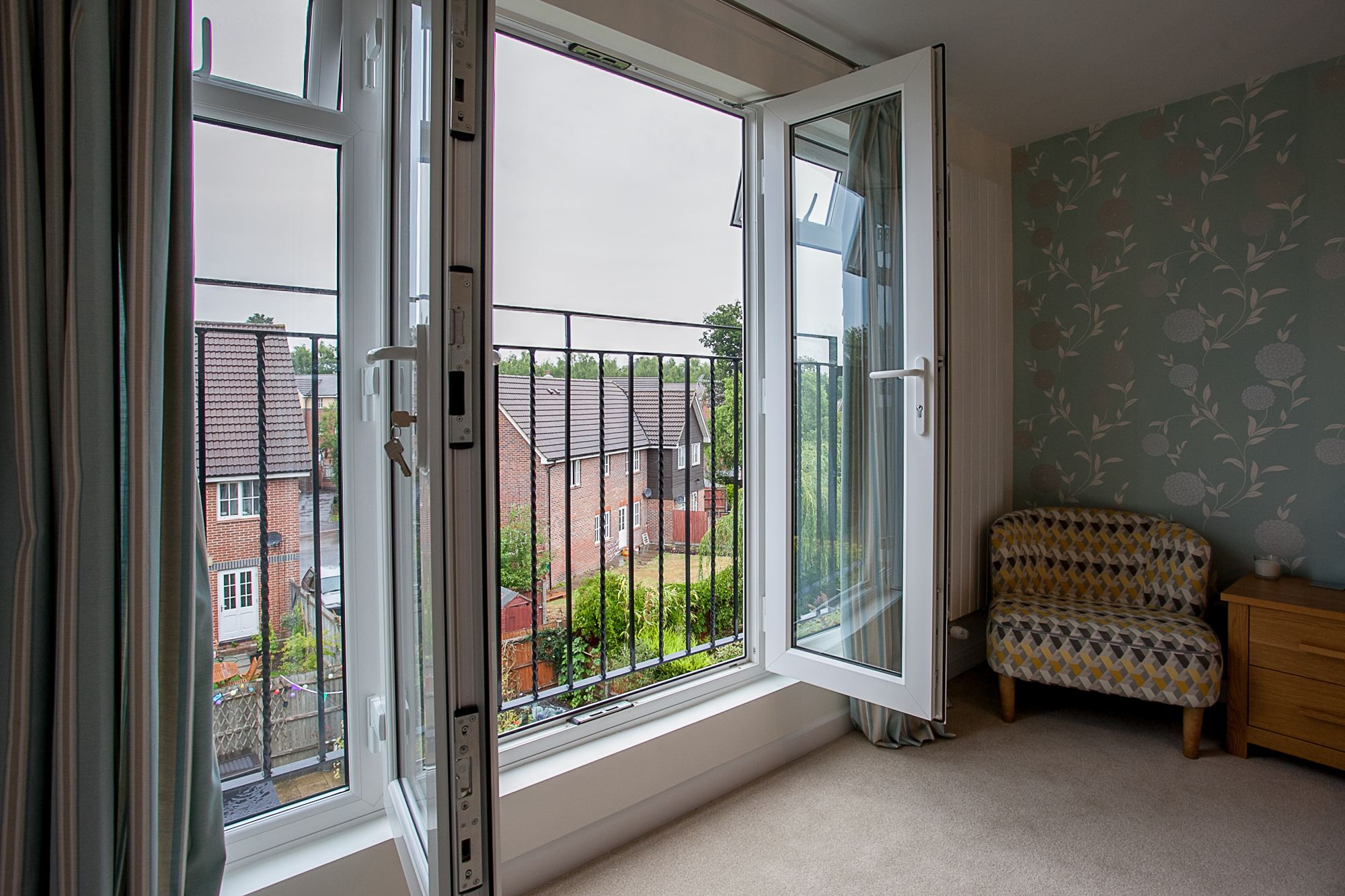Bedroom Juliet Balcony Doors